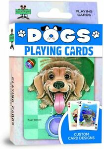 Dogs set of 52 playing cards + Jokers (mpc)