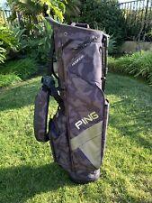 Ping HooferLite Rare Black/Grey Camo Golf Bag