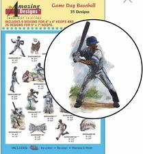 Amazing Designs Game Day Baseball 35 Designs ADL-53 Brand New Factory Sealed