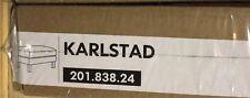 Ikea Karlstad Bezug für Hocker Korndal mittellblau NEU OVP 201.838.24