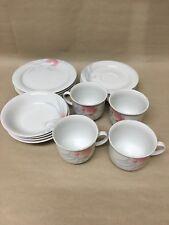 VINTAGE WINTERLING BAVARIA WEST GERMAN TEA SET 16 PIECE CUPS SAUCERS BOWL PLATES
