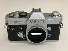 Canon FT QL 35mm Film SLR Camera Body Only AS IS