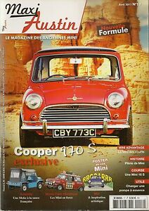 MAXI AUSTIN 17 MINI COOPER S 970 MINI ADVANTAGE MINI SCHMITTY MINI RS 172CV