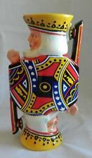 Ranger Gift Playing Card King Savings Ceramic Coin Bank 2006 NIB Retired
