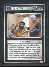 Star Trek CCG All Good Things Card In For A Trim 13P