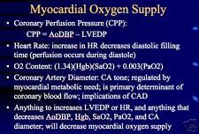 47 page Heart CARDIAC PHYSIOLOGY PowerPoint Presentation on CD