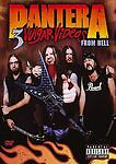 Pantera: 3 Vulgar Videos from Hell (DVD, 2006, 2-Disc Set, Dolby Digital 5.1...