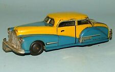 TWO DOOR HARDTOP CAR TIN FRICTION TOY JOUSTRA FRANCE