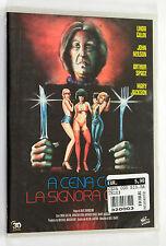 A CENA CON LA SIGNORA OMICIDI DVD Horror SIGILLATO SEALED