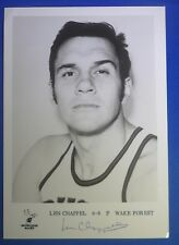 LEN CHAPPELL dec 2018 autograph signed 5x7 Milwaukee Bucks early 70's Team Issue