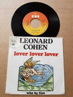 "Leonard Cohen Lover Lover Lover Vinyl,7"",45 RPM,Single Rock Sammlung 1974"