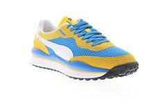 Puma стиль всадника поток на 37152703 мужская синяя сетка повседневные кроссовки, обувь