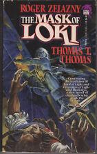 The Mask of Loki, Roger Zelazny & Thomas T Thomas. In Stock in Australia