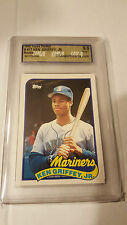 1989 Topps Traded Ken Griffey Jr. RC #41T USA 9 Seattle Mariners