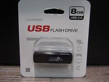 Unirex USFW-208S Swing 8GB USB 2.0 Flash Drive - BLACK