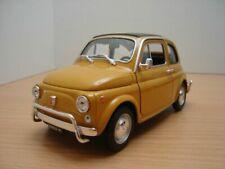 FIAT 500 L jaune 1/18