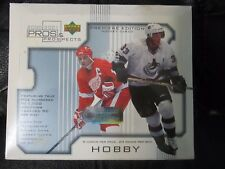 2000-01 Upper Deck Pros & Prospect Factory Sealed Hockey Box (S) 24 pk / 5 cards