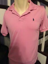 Womans Polo Ralph Lauren Golf Shirt Pink Size L Large