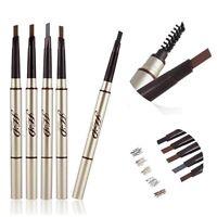New Waterproof Makeup Eye Brow Pen Eyebrow Liner Pencil With Brush Cosmetic Tool