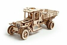 UGEARS Truck Mechanical 3D Puzzle DIY Wooden Construction Set