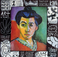 mme MATISSE  tableau pop street ART graffiti french paint canva signed SPACO