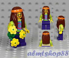 LEGO Series 7 - Hippie Minifigure 8831 Flower Power VW Camper Collectible CMF