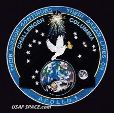 APOLLO 1 - CHALLENGER - COLUMBIA - TIM GAGNON - COMMEMORATIVE SPACE PATCH - MINT