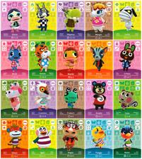 Animal Crossing/amiibo tarjetas/serie 4/nr. 301-400/eu - version/nuevo/original