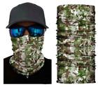 Neck Gaiter Face Mask Fishing Sun Headwear Protection Multi Camo