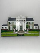 "Retired & Rare Shelia's Wood Collectible ""Graceland Mansion � Elvis Presley"