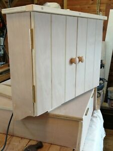 Handmade Wall mounted fuse box cupboard