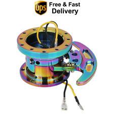 New Flip Up Tilt Quick Release System Steering Wheel Hub Boss Kit Neochrome