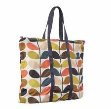 Orla Kiely Foldaway Shopper Tote Shoulder Bag Travel Bag