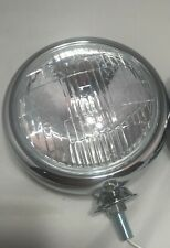 "Single Vintage Style Clear Lens 5"" 6 Volt 6V Fog Light Lamp, Car Truck Hot Rod"