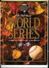 1993 World Series Program, Toronto Blue Jays vs. Philadelphia Phillies