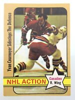 1972-73 Yvan Cournoyer Montreal Canadiens 44 OPC O-Pee-Chee Hockey Card N960