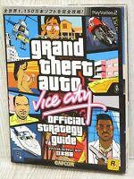 GRAND THEFT AUTO Vice City Guide PS2 Book CP79*