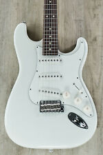 Suhr Classic S Guitar, Olympic White, Rosewood Fingerboard, SSCII, 8 lbs.
