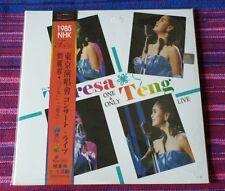 Teresa Teng ( 鄧麗君) ~ One & Only Live ( Picture Disc )( Taiwan Press ) Lp