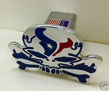 hitch cover,SKULL texans houston,sut, hummer,h2,ford,chevy,dodge,TEXANS