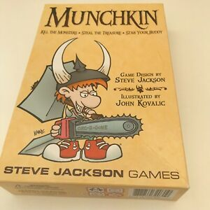 MUNCHKIN Steve Jackson Games Complete 3-6 players Aged 10+