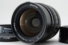 [MINT] Mamiya G 50mm F4 L Lens + Hood for New Mamiya 6 MF From Japan #317