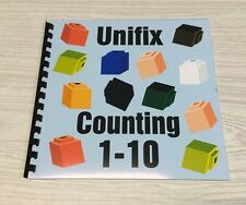 Unifix Cube Counting 1-10 Book