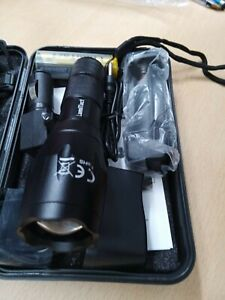 Lumitact G700 Led Torch Rechargeable Super Bright CREE Led Tactical Flashlight