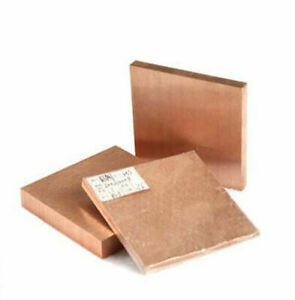 W80 Tungsten Copper Alloy Sheet Solid Metal Panel 100x100/Thickness 1/5/6/8mm