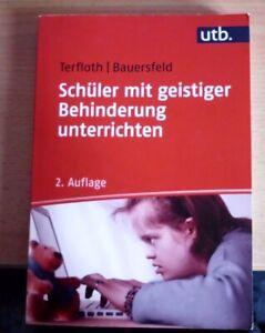 Schüler mit geistiger Behinderung unterrichten,Terfloth/Bauersfeld, 2.Auflage