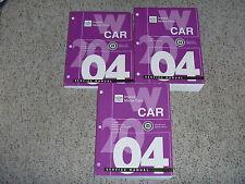 2004 Chevy Impala Monte Carlo Shop Service Repair Manual LS SS 3.4L & 3.8L V6