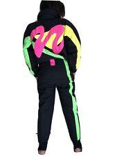 Outrageous Womens Vintage Neon Ski Suit Tyrolia