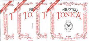 Pirastro Tonica Violinsaiten für 3/4-1/2 Geige Satz-mittel.