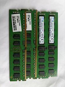 Qty Avail:Samsung 32GB (4x8GB) M393A1G40DB0-CPB PC4-2133P DDR4 ECC Server Memory